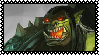 Grom Hellscream stamp by Shadowwshade