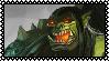 Grom Hellscream stamp by Shadowwshade