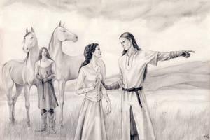 Swiftest horses by Filat