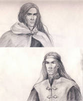 Fingon and Maedhros by Filat