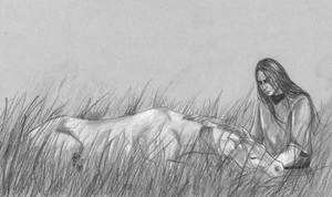 Fingon and Rochallor by Filat