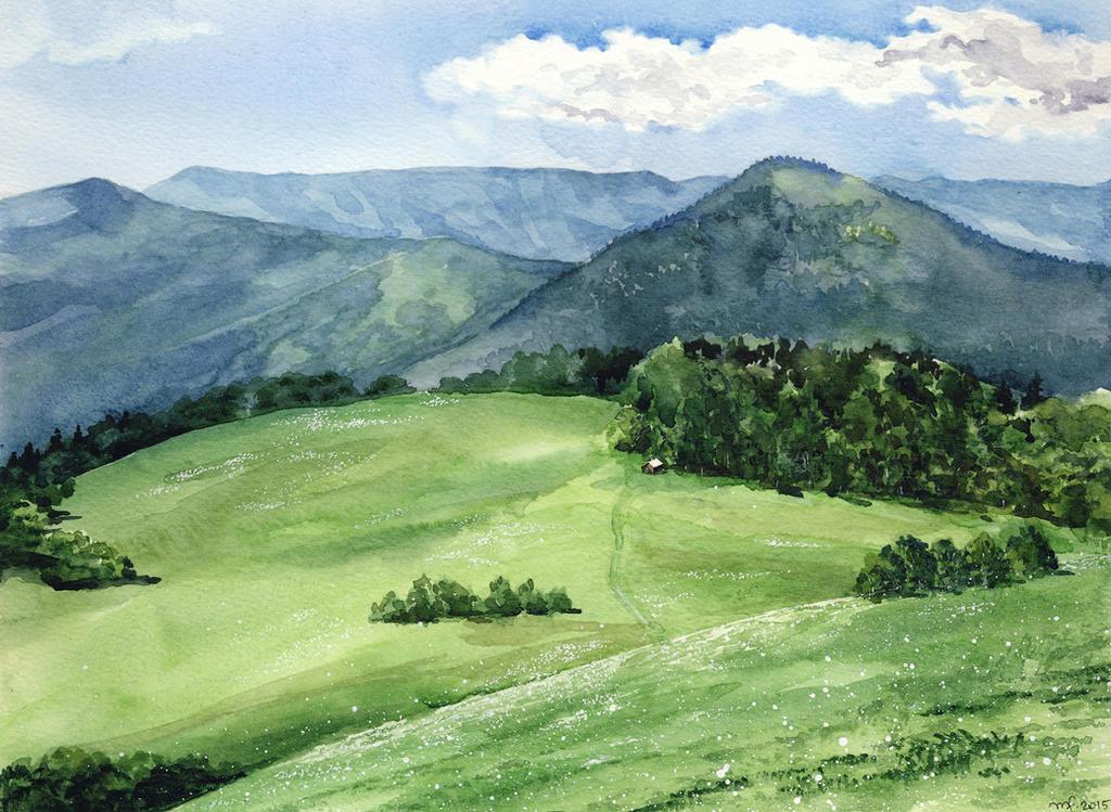 Mountain shelter / summer by Filat