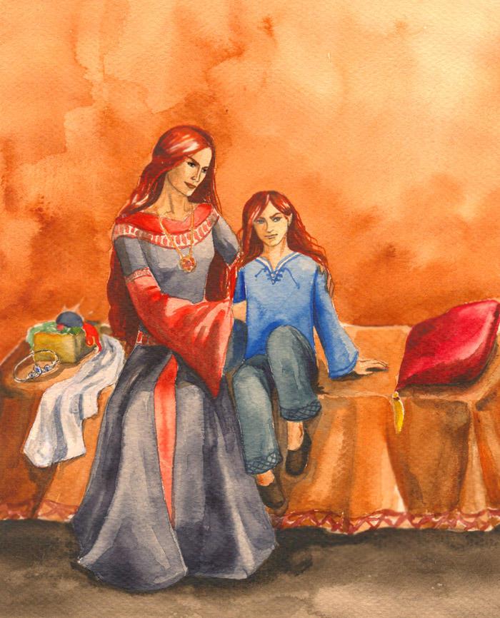 http://fc06.deviantart.com/fs6/i/2005/089/8/c/Nerdanel_with_her_firstborn__by_Filat.jpg