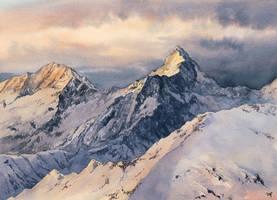 Sunrise peaks by Filat