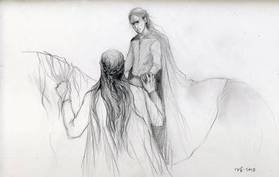 Farewell / Fingon and Ereinion by Filat