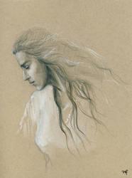 Curufin's wife sketch