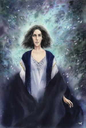 Luthien of Doriath by Filat