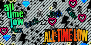All Time Low background by PiercedxAlesanaxGirl