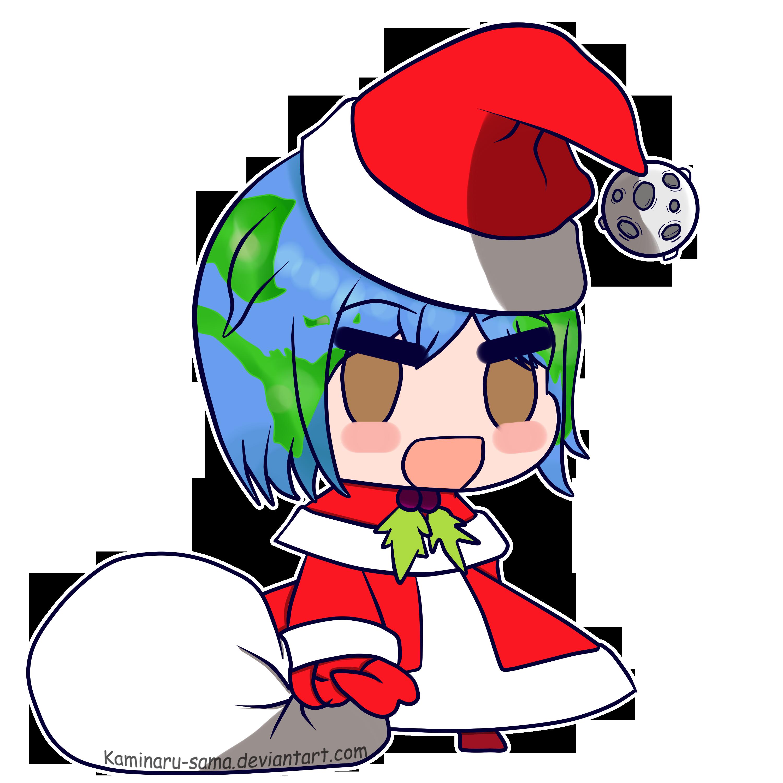 Earth-chan Padoru Padoru by Kaminaru-sama | Earth-chan ...