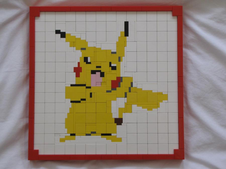 Pikachu Mosaic by Stevolteon