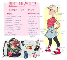 Meet The Artist! by foxcrusade