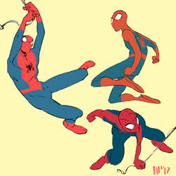 Spidermans by foxcrusade
