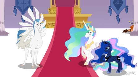 That's Not How We Treat Royalty by LeafFox