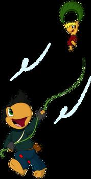 Toad Patrol Secret Santa: Makeshift Kite