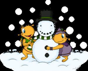 Secret Santa: Snow Toad