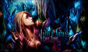 _Jaina and Arthas_collab w/Eunice by gabber1991md