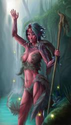 Commission: Diamphar the Sylvari