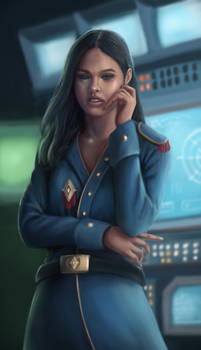 Communication officer Alyta Dalnea