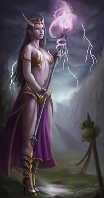 Dark Elve Magician