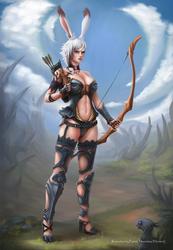 Final Fantasy XIV Commission: Viera