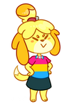 Isabelle said gay rights by maskarie