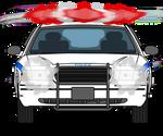 Kisekae2 Prop: NYPD Car Front w/Lights