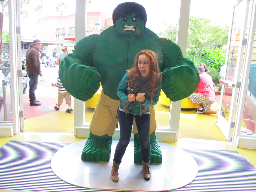 Lego Hulk Me and lego hulk 2 by