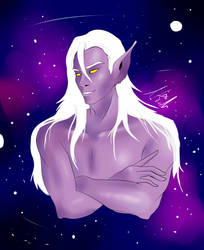 Prince Lotor by MyderLu
