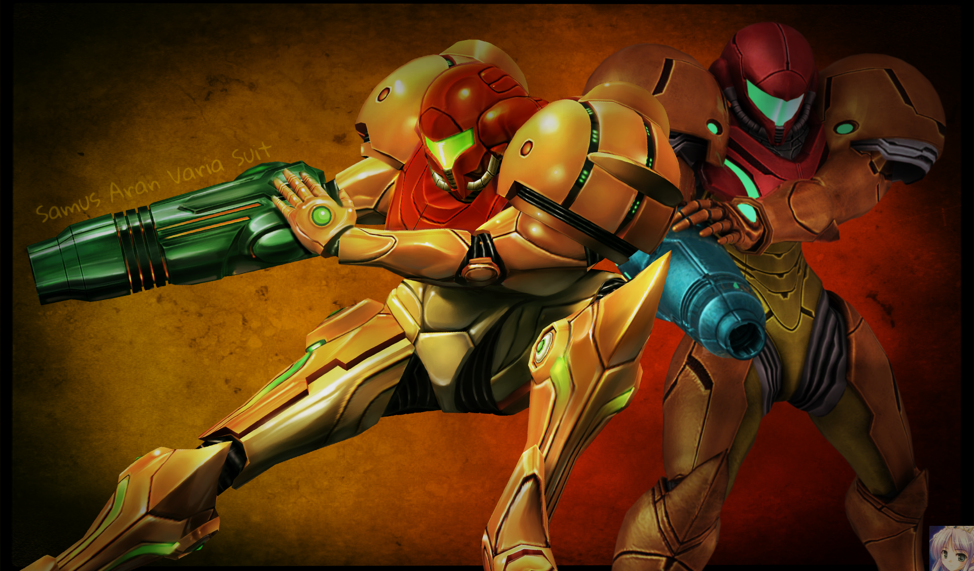 Metroid Samus Aran Varia Suit Wallpaper By Firefox4x On