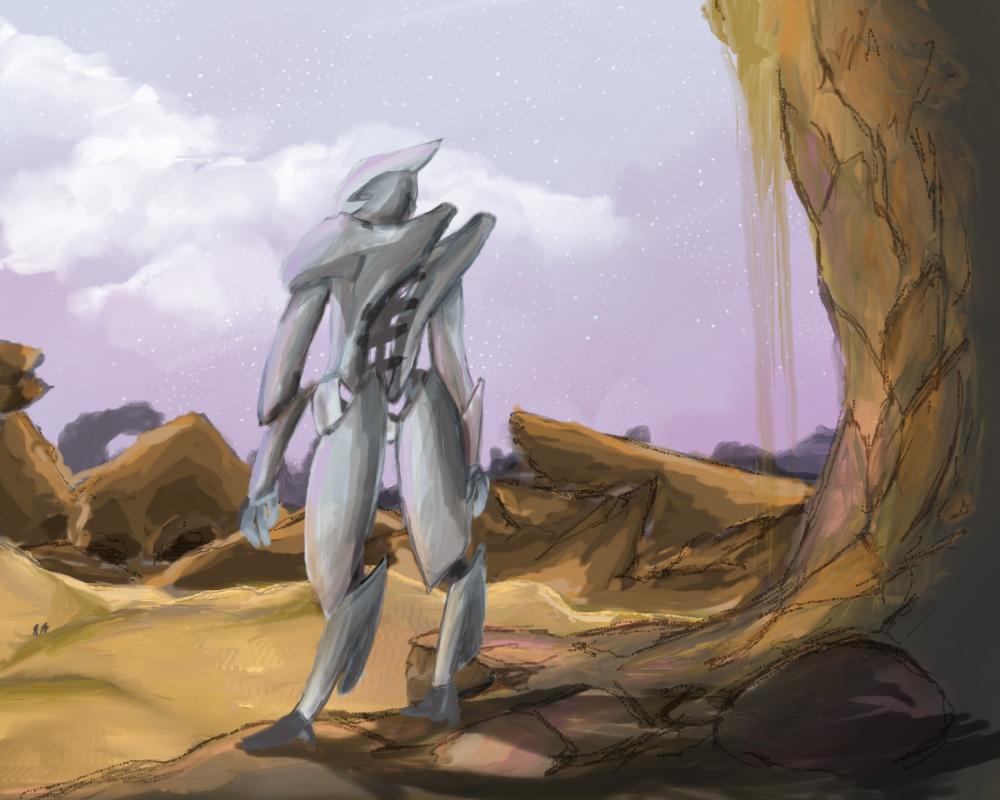 Desert bot by 98zelda