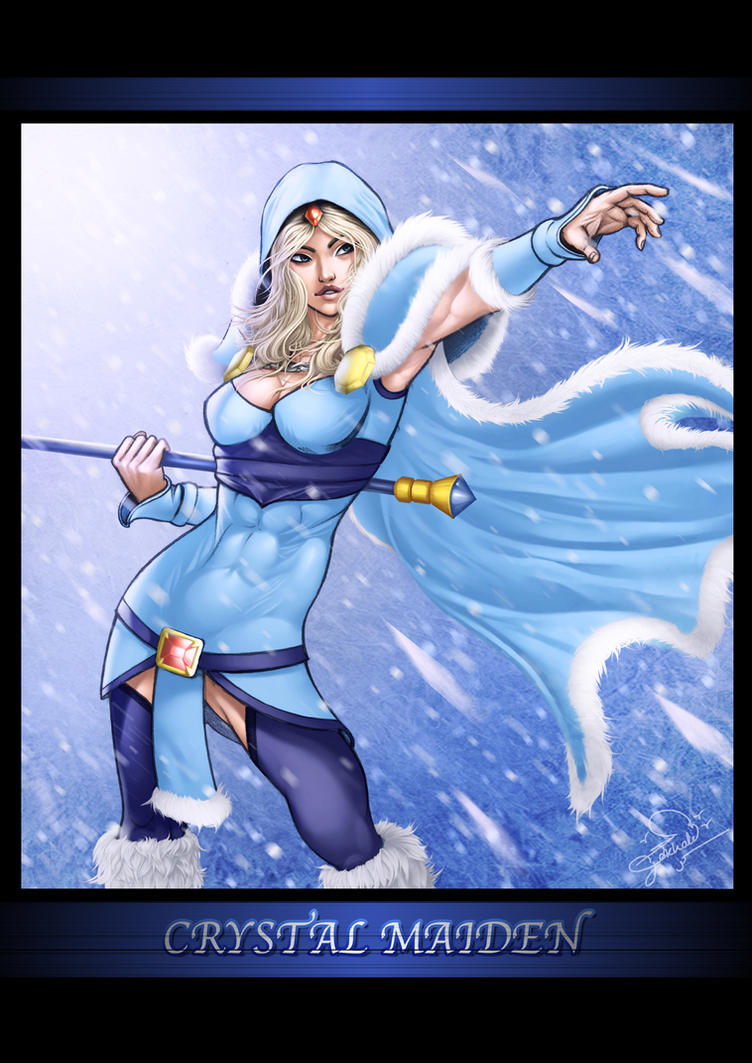 Crystal Maiden by soumithebest2006