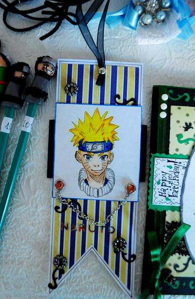 Naruto Bookmark by Bogdanutza