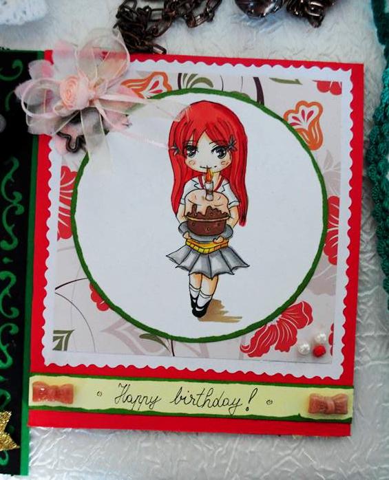 Orihime Birthday Card by Bogdanutza