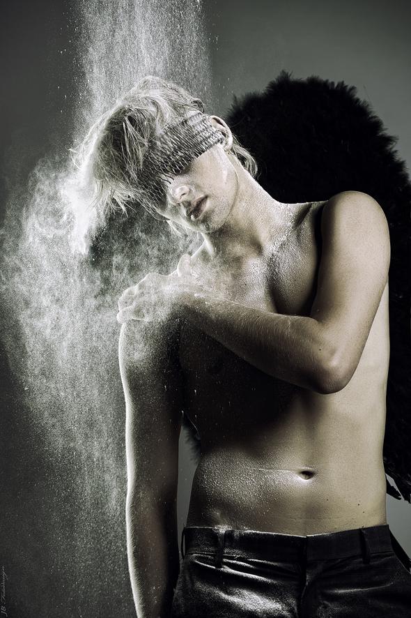 dark angel into white by JB-Fotodesign