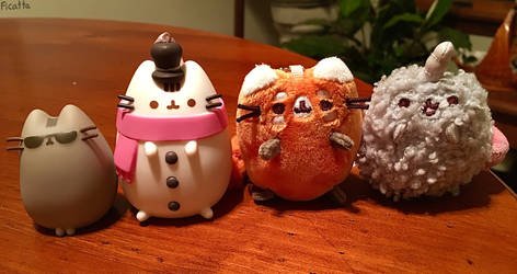 Cute Pusheen Figures and Plushies