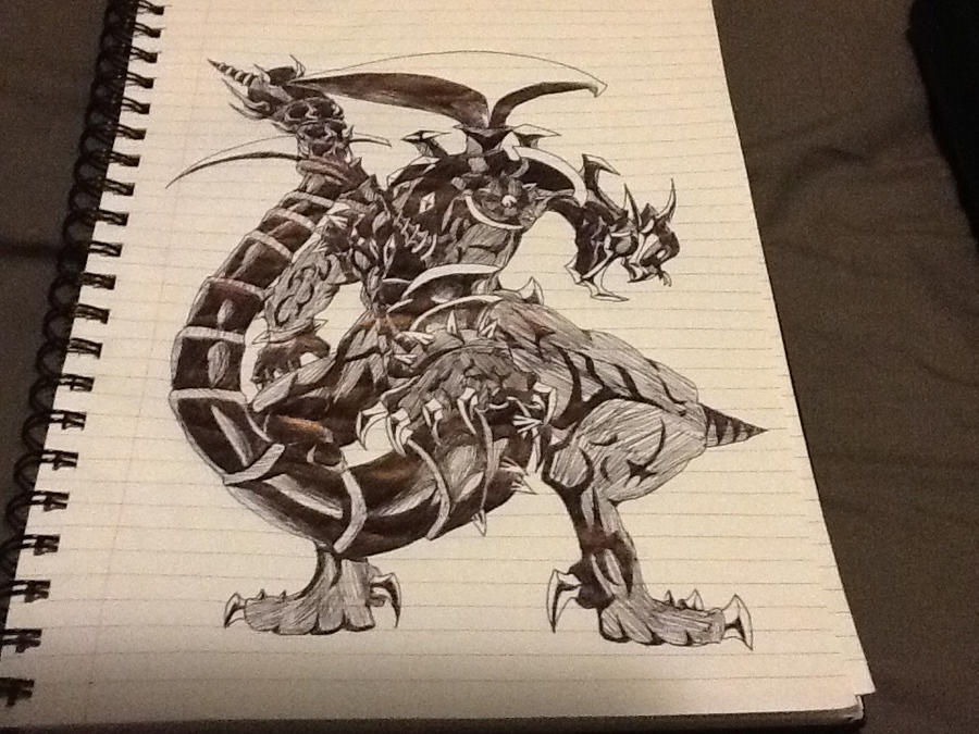 Dark armed dragon sketch by cv8812