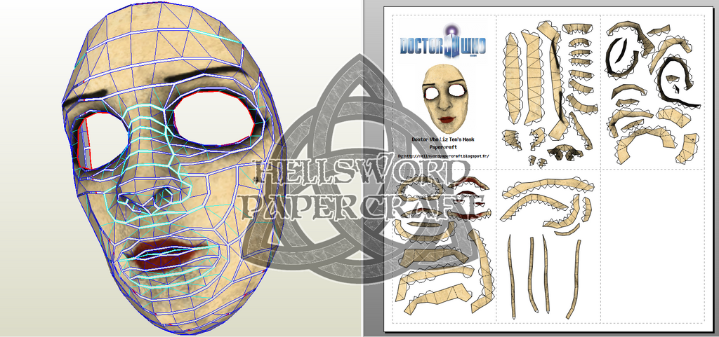 plague doctor mask template pdf free