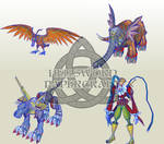 Some Future Digimon Papercrafts I'm Planning To Do