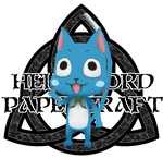 Fairy Tail Happy Papercraft