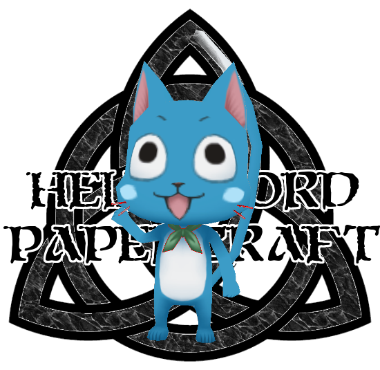 Fairy Tail Happy Papercraft by HellswordPapercraft