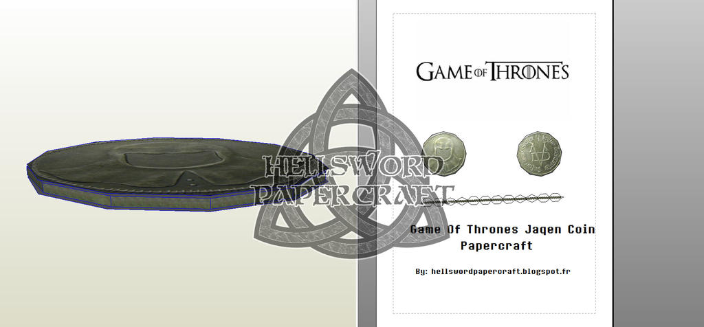 D Game Of Thrones Paper Craft