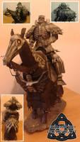 Berserk Skull Knight Papercraft by HellswordPapercraft