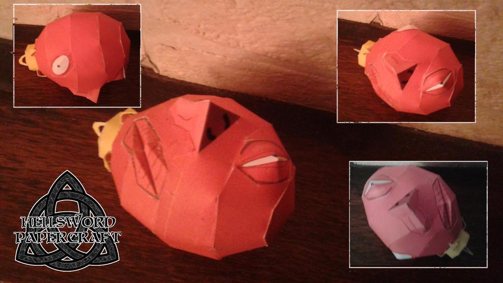 Berserk Crimson Behelit Papercraft By HellswordPapercraft