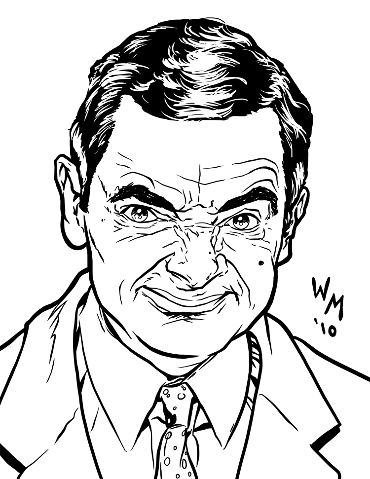 mr bean by quibly on deviantart