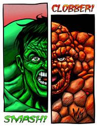 Hulk - Thing by quibly