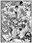 21 Avengers - Inks