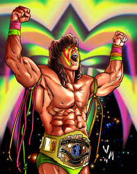Ultimate Warrior by quibly