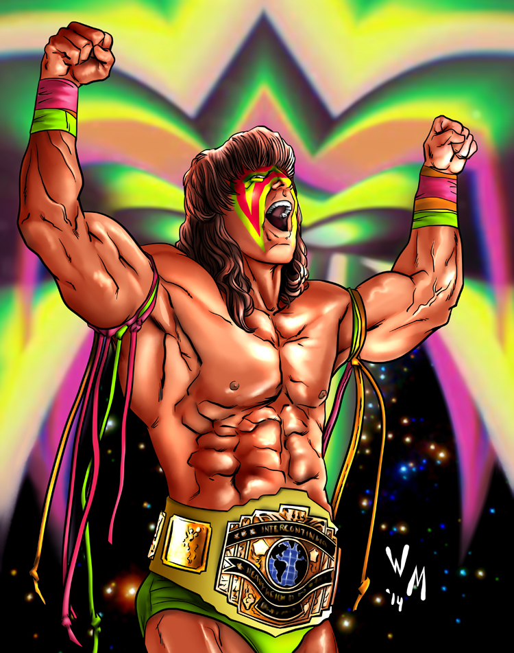 Ultimate Warrior by quibly on DeviantArt