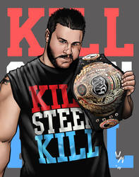 Kevin Steen by quibly