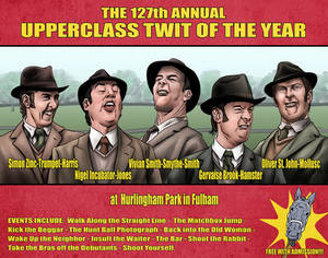 The 127th Annual Upperclass Twit of the Year